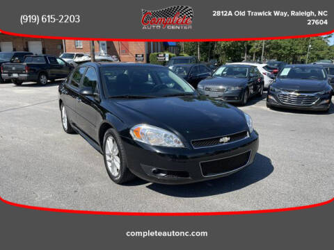 2014 Chevrolet Impala Limited for sale at Complete Auto Center , Inc in Raleigh NC