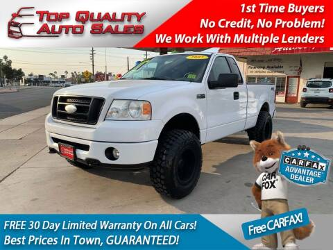 2007 Ford F-150 for sale at Top Quality Auto Sales in Redlands CA