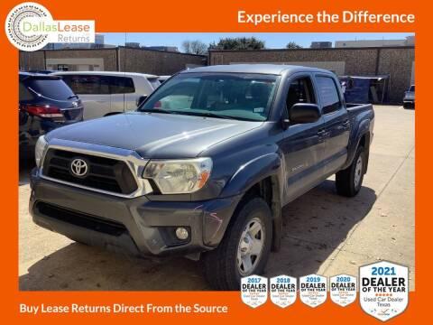 2014 Toyota Tacoma for sale at Dallas Auto Finance in Dallas TX