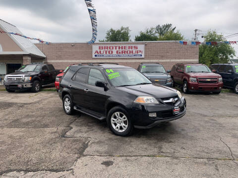 2004 Acura MDX for sale at Brothers Auto Group in Youngstown OH