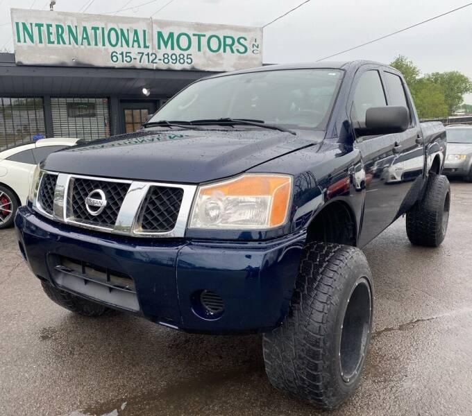 2009 Nissan Titan for sale at International Motors Inc. in Nashville TN