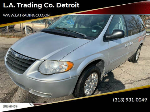 2006 Chrysler Town and Country for sale at L.A. Trading Co. Detroit in Detroit MI