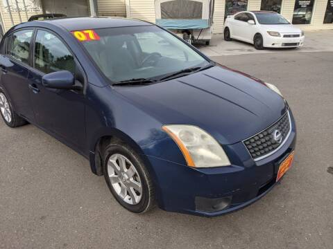 2007 Nissan Sentra for sale at Progressive Auto Sales in Twin Falls ID
