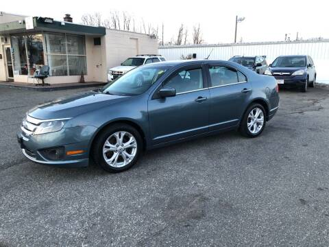 2012 Ford Fusion for sale at Chris Auto South in Agawam MA