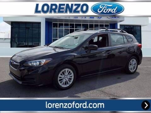 2018 Subaru Impreza for sale at Lorenzo Ford in Homestead FL