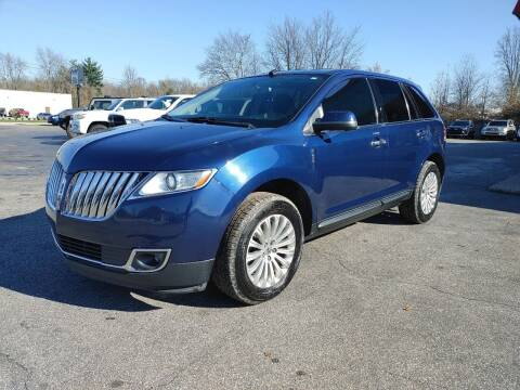 2012 Lincoln MKX for sale at Cruisin' Auto Sales in Madison IN