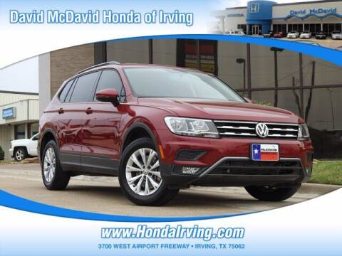 2018 Volkswagen Tiguan for sale at DAVID McDAVID HONDA OF IRVING in Irving TX