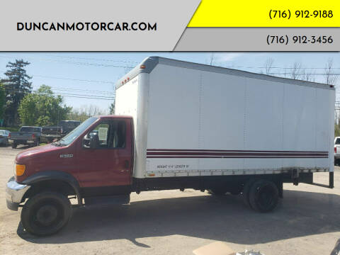 2003 Ford E-Series Chassis for sale at DuncanMotorcar.com in Buffalo NY