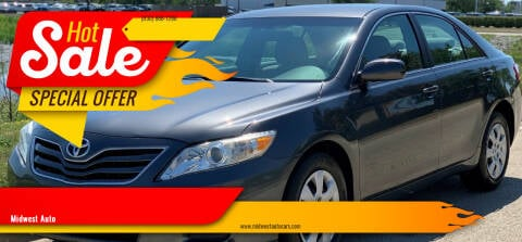 2010 Toyota Camry for sale at Midwest Auto in Naperville IL
