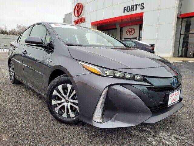 2020 Toyota Prius Prime for sale at Auto Smart of Pekin in Pekin IL