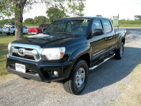 2015 Toyota Tacoma for sale at Hartman's Auto Sales in Victoria TX