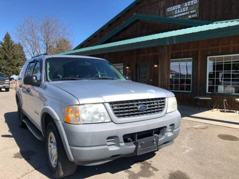 2002 Ford Explorer for sale at Coeur Auto Sales in Hayden ID