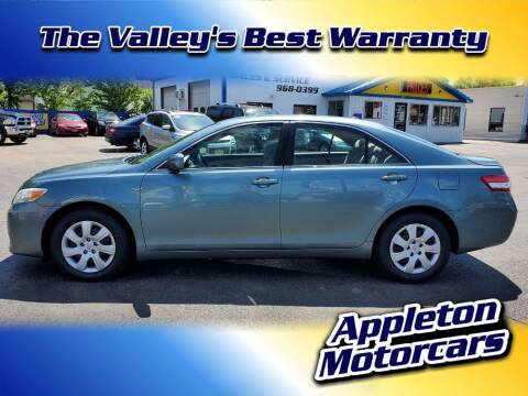 2010 Toyota Camry for sale at Appleton Motorcars Sales & Service in Appleton WI