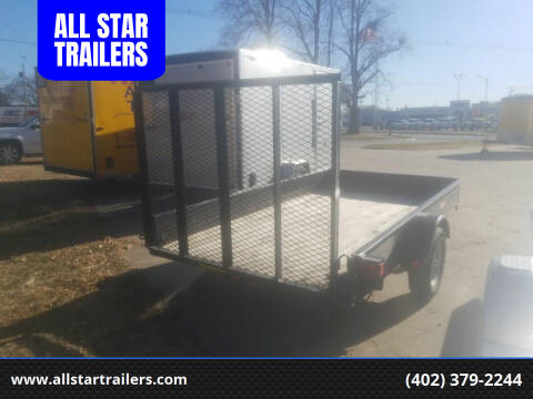 2012 USED 66X10 UTILITY H&H for sale at ALL STAR TRAILERS Used in , NE