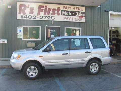 2007 Honda Pilot for sale at R's First Motor Sales Inc in Cambridge OH
