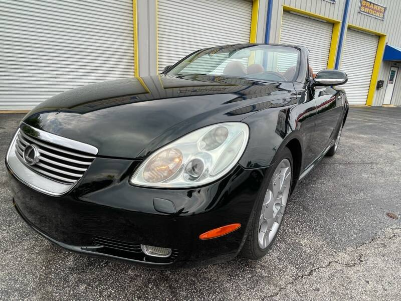 2005 Lexus SC 430 for sale at RoMicco Cars and Trucks in Tampa FL
