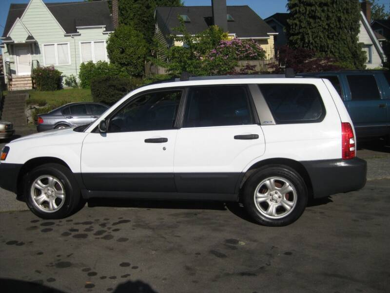 2003 Subaru Forester for sale at UNIVERSITY MOTORSPORTS in Seattle WA