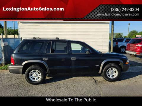 2002 Dodge Durango for sale at LexingtonAutoSales.com in Lexington NC