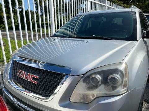 2012 GMC Acadia for sale at America Auto Wholesale Inc in Miami FL