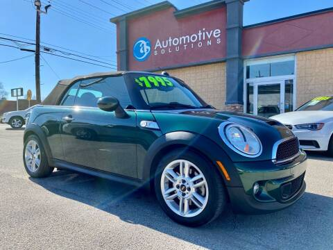 2011 MINI Cooper for sale at Automotive Solutions in Louisville KY