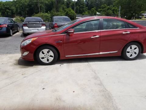 2011 Hyundai Sonata Hybrid for sale at Palmer Automobile Sales in Decatur GA