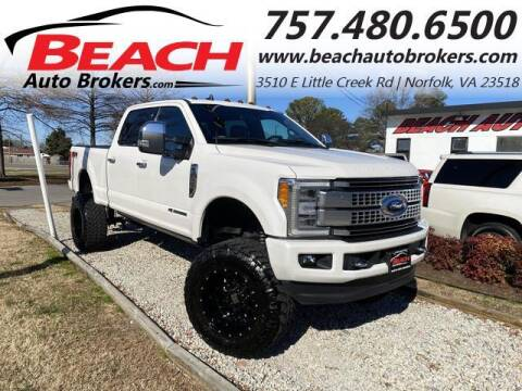 2019 Ford F-250 Super Duty for sale at Beach Auto Brokers in Norfolk VA
