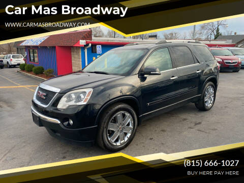 2010 GMC Acadia for sale at Car Mas Broadway in Crest Hill IL