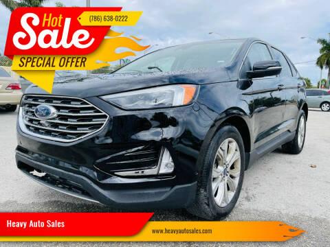 2020 Ford Edge for sale at Heavy Auto Sales in Miami FL