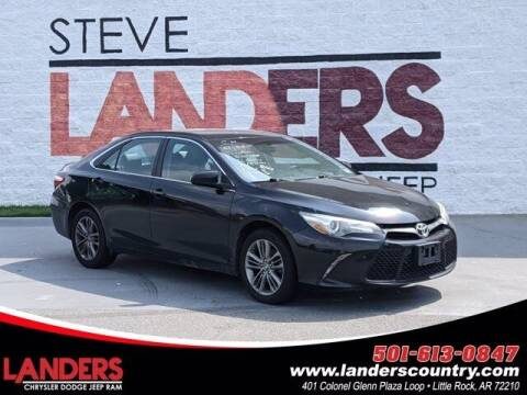 2016 Toyota Camry for sale at The Car Guy powered by Landers CDJR in Little Rock AR
