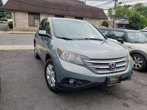 2012 Honda CR-V for sale at DNS Automotive Inc. in Bergenfield NJ