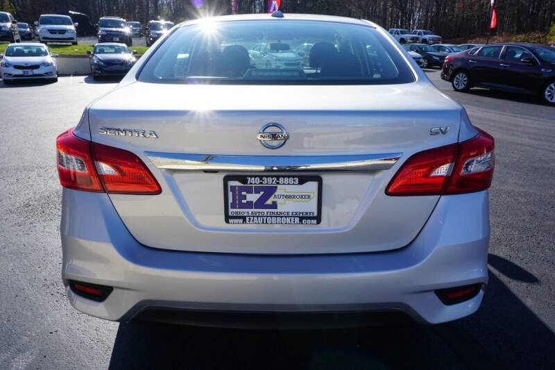 2017 Nissan Sentra S 4dr Sedan CVT - Mount Vernon OH