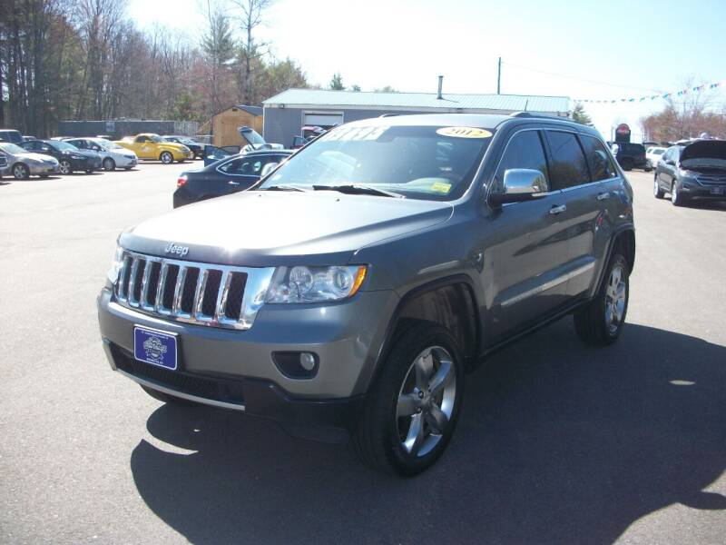 2012 Jeep Grand Cherokee for sale at Auto Images Auto Sales LLC in Rochester NH