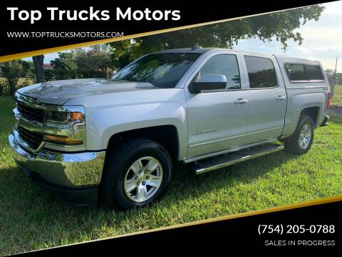 2017 Chevrolet Silverado 1500 for sale at Top Trucks Motors in Pompano Beach FL