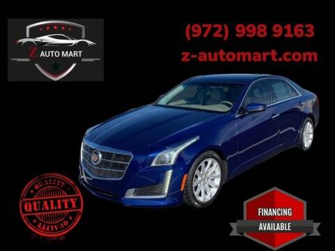 2014 Cadillac CTS for sale at Z AUTO MART in Lewisville TX