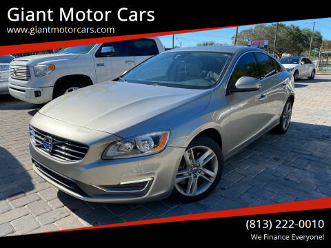2014 Volvo S60 for sale at Giant Motor Cars in Tampa FL