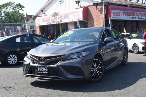 2021 Toyota Camry for sale at Foreign Auto Imports in Irvington NJ
