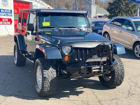 2008 Jeep Wrangler Unlimited for sale at Milford Automall Sales and Service in Bellingham MA