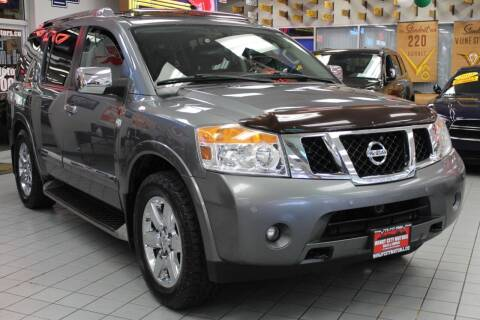 2013 Nissan Armada for sale at Windy City Motors in Chicago IL