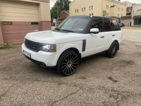 2011 Land Rover Range Rover for sale at MG Auto Sales in Pittsburgh PA