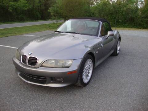 2001 BMW Z3 for sale at Pristine Auto Sales in Monroe NC