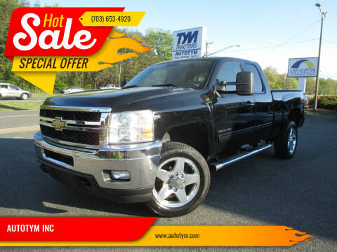 2011 Chevrolet Silverado 2500HD for sale at AUTOTYM INC in Fredericksburg VA