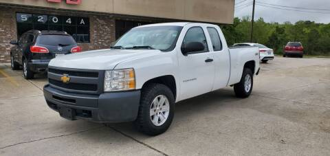2013 Chevrolet Silverado 1500 for sale at WHOLESALE AUTO GROUP in Mobile AL