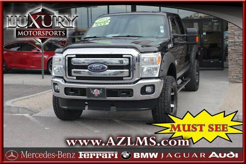 2015 Ford F-350 Super Duty for sale at Luxury Motorsports in Phoenix AZ