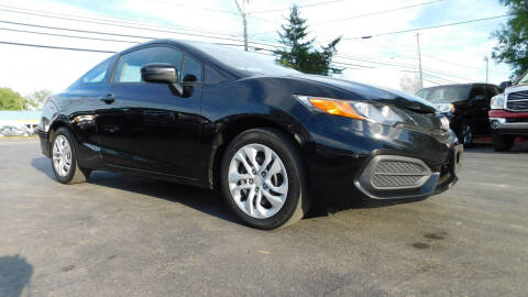 2014 Honda Civic for sale at Action Automotive Service LLC in Hudson NY