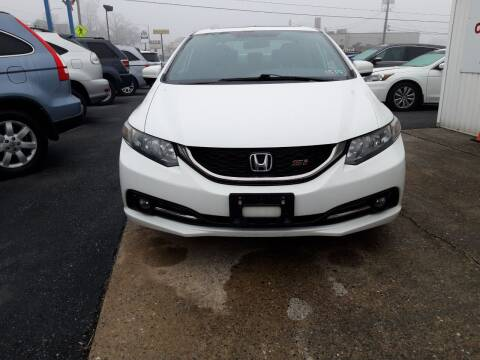 2015 Honda Civic for sale at Automotive Fleet Sales in Lemoyne PA