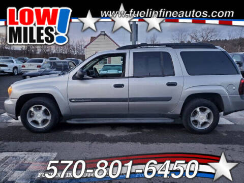 2004 Chevrolet TrailBlazer EXT for sale at FUELIN FINE AUTO SALES INC in Saylorsburg PA