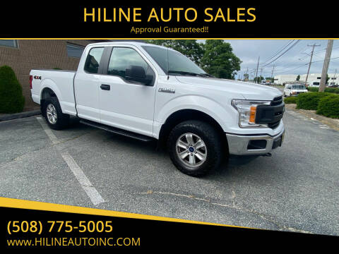 2018 Ford F-150 for sale at HILINE AUTO SALES in Hyannis MA