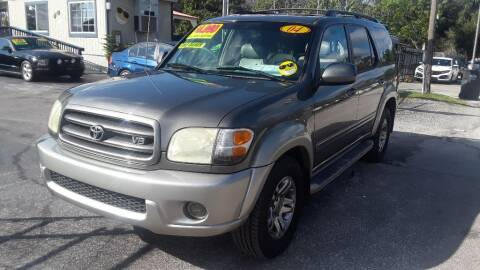 2004 Toyota Sequoia for sale at AUTO IMAGE PLUS in Tampa FL