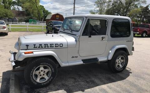 1988 Jeep Wrangler for sale at Cordova Motors in Lawrence KS