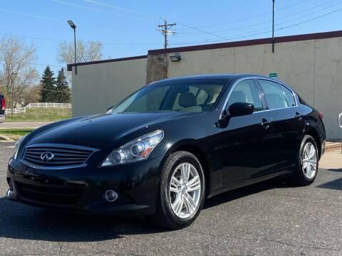 2012 Infiniti G37 Sedan for sale at North Imports LLC in Burnsville MN
